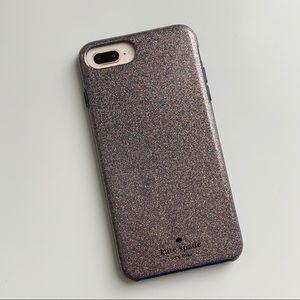 KATE SPADE Multi-glitter IPhone 8 Plus Case